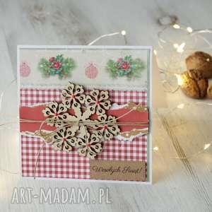 pomysły na prezenty święta Komplet 2 kartek Boże Narodzenie, kartka, kartki
