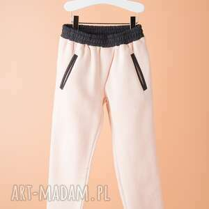 spodnie dsp02r, spodnie, wygodne, stylowe, dziewczęce ubranka
