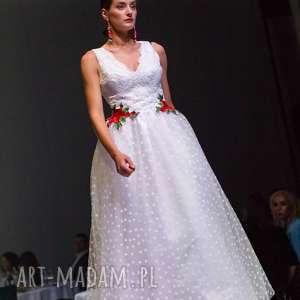 ręcznie robione ślub suknia ślubna folk inspirowana góralszczyzną unikat
