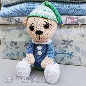Prezent Śpioch Wojtek, zabawka, dziecko, prezent, przytulanka, bawełniana, miś