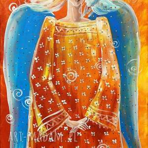 świąteczne prezenty, anioł marzeń, anioł, marzenia, na ścianę, dom, obraz