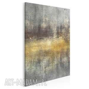 obraz na płótnie - abstrakcja sztuka artystyczny w pionie 50x70 cm 95603
