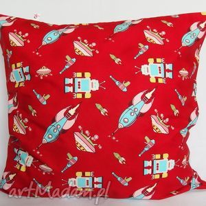 poduszka w roboty piękna ozdoba prezent - poduszka, ozdoba, prezent, roboty