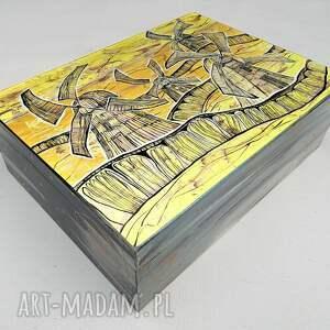 szkatułka gdzie młyny lecą, 4mara, obraz, wiatrak, holandia, szkatułka, dom