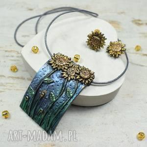 Słeczniki - komplet biżuterii zawieszka kolczyki wkrętki