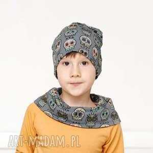hand-made czapka dresowa czachy etno