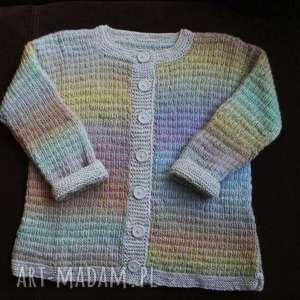 wełniany sweterek fantazja, rękodzieło, włóczka, wełniany, delikatny, cieplutki