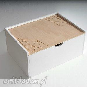 ręczne wykonanie pudełka skrzynka na dokumenty, na biurko, na drobiazgi