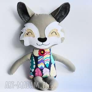 hand-made zabawki wilk hania