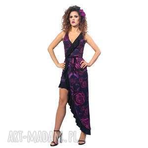 Elena magic rose sukienki milita nikonorov falbany