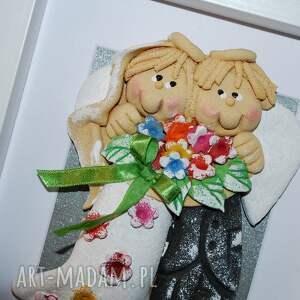 ślub mili moi, życzę wam - aniołki prezent na jubileusz, anioły, masa