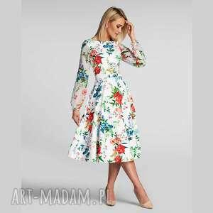 sukienki sukienka aniela total midi ariana, midi, zwiewna