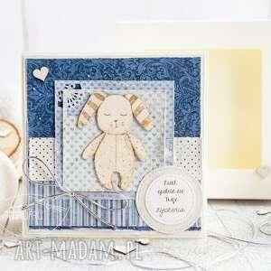 hand made scrapbooking kartki urocza kartka dla dziecka. Urodziny. Roczek. Narodziny