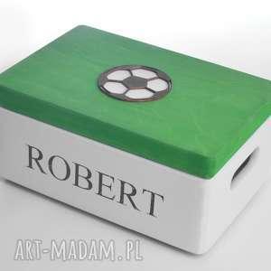 ręczne wykonanie pokoik dziecka pudełko skrzynia na zabawki personalizowane