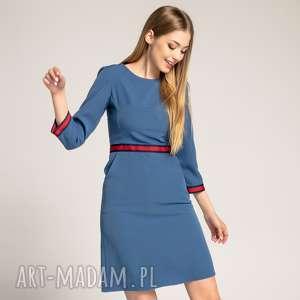 Sukienka Patrizia Sport z Lampasami, sportowa-sukienka, sukienka-do-pracy