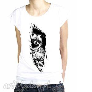 koszulki koszulka damska szop - malinowe cacko, szop, koszlulka, ilustracja, grafika