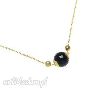 hand made naszyjniki poplavsky złoty naszyjnik z onyksem
