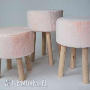 fjerne m futrzak różowy - twórczykat, fjerne, drewno, różowy