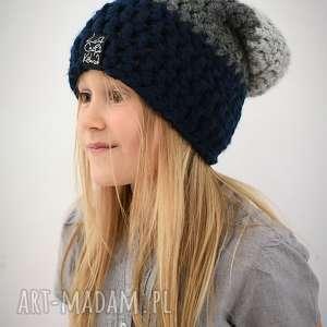 unikalny prezent, triquensik 17, czapka, czapa, dziecięca, zima, zimowa, ciepła