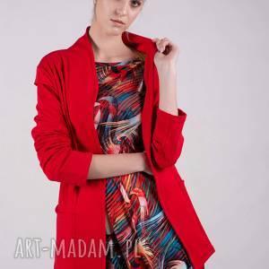 handmade marynarki marynarka czerwona