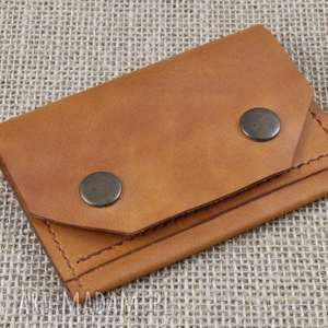 handmade portfele portfel skórzany na karty