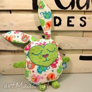 handmade maskotki zając królik przytulanka