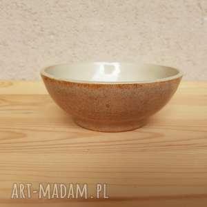 ceramika miseczka beżowa, miska, miseczka, misa, ceramika, glina, rękodzieło, prezent