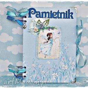 Prezent Pamiętnik z Błękitną Wróżką, notatnik, pamiętnik, księżniczka, dziewczynka