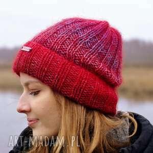 czapki ciepła delikatna czapka merino i kidsilk, czapka, nadrutach, naprezent