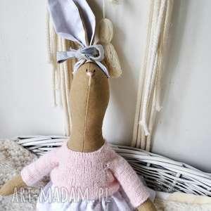 lalki pani królik, prezent, urodziny, dziewczynki, szmacianka, chrzciny