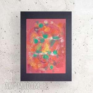 nowoczesna dekoracja na ścianę, ładna abstrakcja do pokoju, nowoczesny obrazek