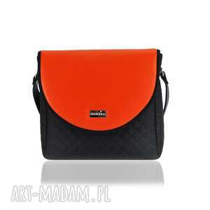 handmade torebki torebka puro classic 2499 orange leather