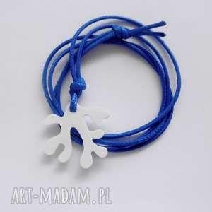 oryginalny prezent, wisiorki koral wisiorek, tworzywo, sznurek, koral