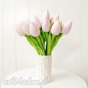 jobuko tulipany - bukiet bawełnianych kwiatów, tulipany, bukiet, szyte, kwiaty