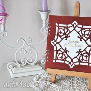 Księga Pamiątkowa z Ornamentem No 3, albumy, księgi, księgigości, księgipamiątkowe