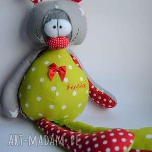 miś franek szyta przytulanka - personalizowany, urodziny, dziecka
