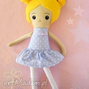 Prezent Lalka Mela - mała baletnica, szmacianka, prezent, bawełna, przytulanka
