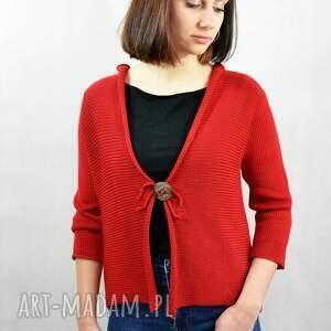 hand made bluzy letni bawełniany sweterek