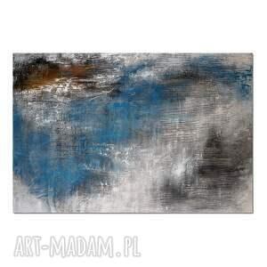 tierra el hielo 9, abstrakcja, nowoczesny obraz ręcznie malowany