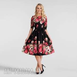 ręcznie zrobione sukienki sukienka luiza midi izabella