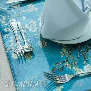 handmade podkładki podkładka na stół (duża) - van gogh, kwitnący