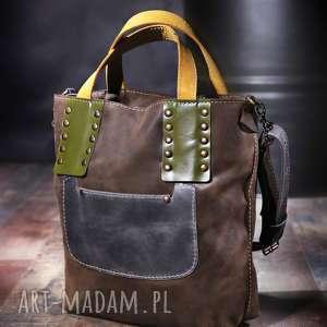 ręcznie wykonane torebki torba skórzana damska navahoclothing