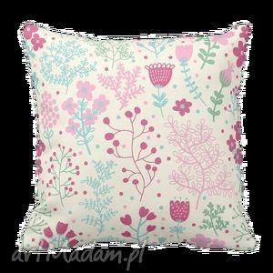 poduszka skandynawska w kawiaty flora flowers 6126, kwiaty