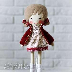 malowana lala tosia, lalka, zabawka, prytulanka, prezent, niespodzianka, dziecko