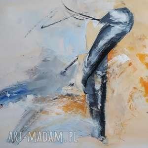 Szpilki dom galeria alina louka duży abstrakcja, kobieta obraz