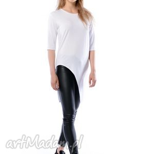 Justyna Hypnotic White, koszulka, tunika, bluzka