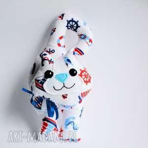 Kot klamkowy Czarek, kot, klamkowy, zawieszka, morze, maskotka, dekoracja