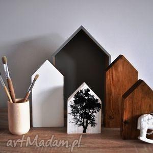 drewniane domki - dekoracje z drewna, domki, domek, drewniany, dziecięcy