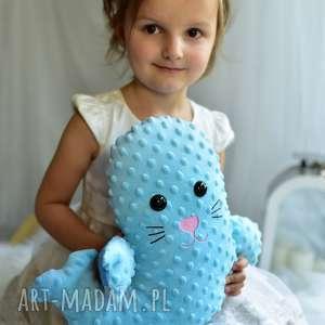 Prezent Przytulanka dziecięca foka, poduszka-foka, przytulanka-foka