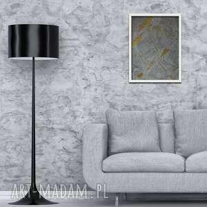 Obraz 40x50cm beton i złoto iv ovo design obraz, dekoracja